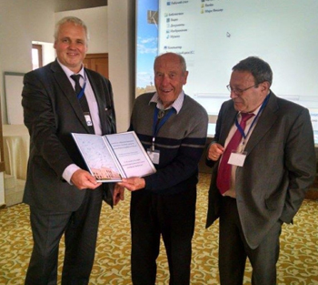 "Author and physists, David W. Allan - ""It's About Time"" Book - International Symposium on Time and Space held in Suzdal, Russia."